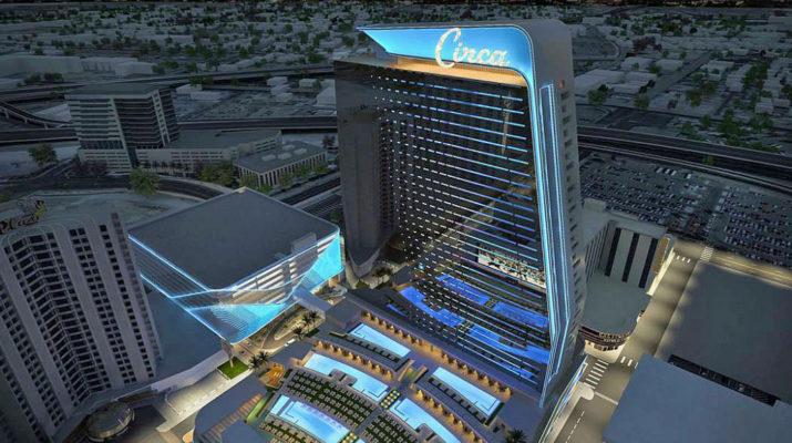 Circa Hotel. Las Vegas