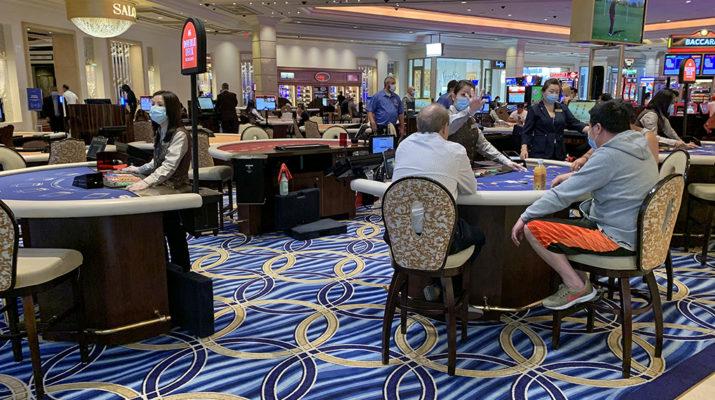 Palazzo Las Vegas Blackjack Table