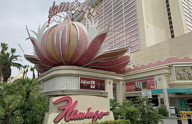 The iconic Flamingo Las Vegas