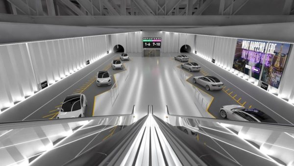 Amazing Underground Las Vegas Tunnel