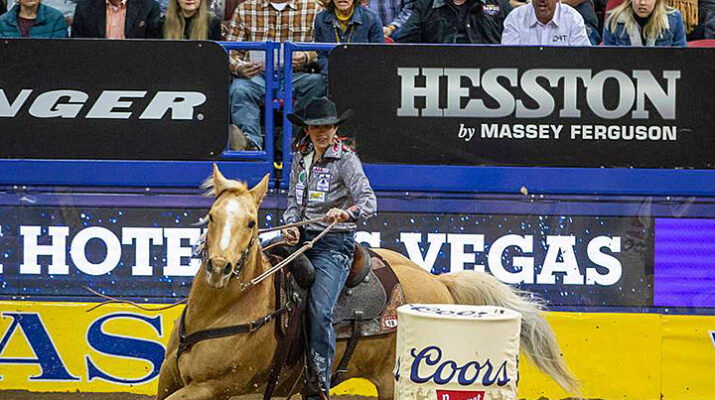 Las Vegas NFR 2020 is Texas Bound
