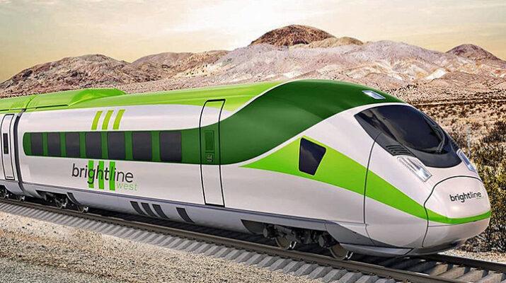 Los Angeles to Las Vegas High Speed Train