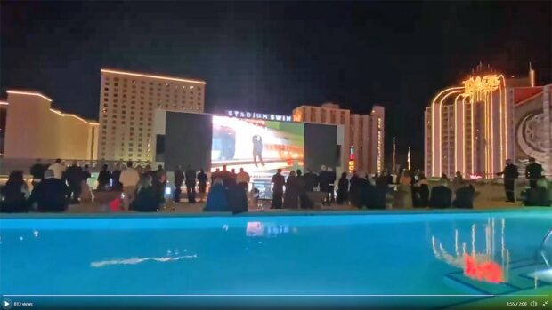 Circa Resort 2 story Pool Area