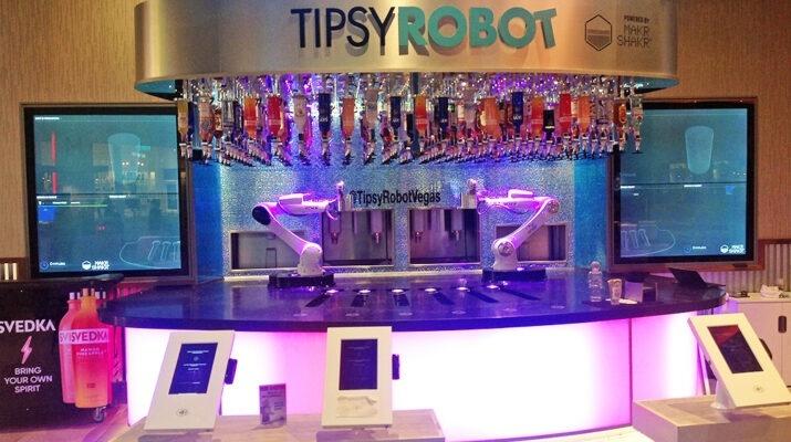 Robot Bar, Planet Hollywood, Las Vegas
