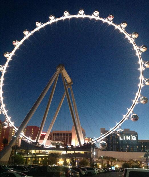 High Roller on the Linq Promenade Las Vegas