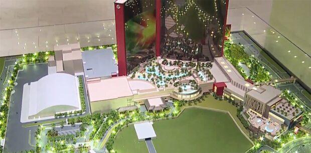 Resort World 87 acres Las Vegas Property