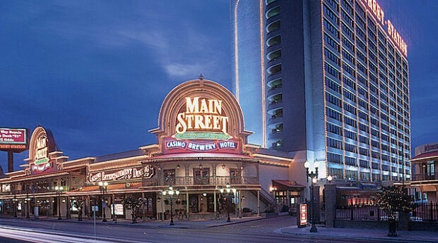 Main Street Station on Fremont Strsst